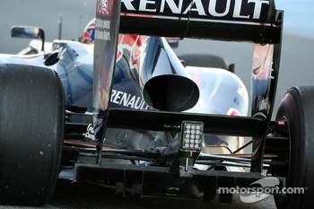 Mark Webber, Red Bull Racing, rear, detail