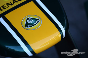 Team Lotus badge