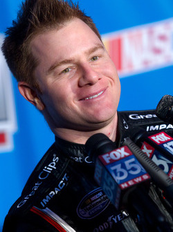 NASCAR Nationwide Series driver Jason Lefler