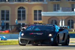 #08 West Yokohama Racing Lamborghini Gallardo LP560-4: Nicky Pastorelli, Dominik Schwager