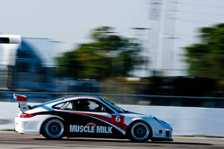 #6 Muscle Milk Team Cytosport Muscle Milk Porsche GT3: Mark Bullitt
