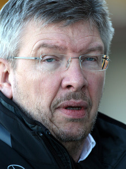 Ross Brawn Team Principal, Mercedes GP