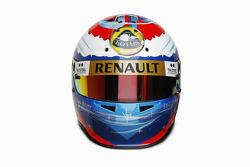 Vitaly Petrov, Lotus Renault GP helmet