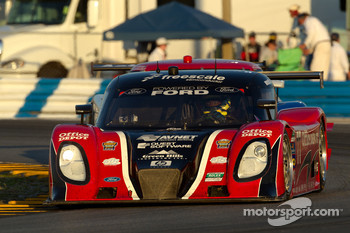 #77 Doran Racing Ford Dallara: Matt Bell, Brian Frisselle, Ross Kaiser, Henri Richard