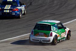 #196 RSR Motorsports Mini Cooper S: Ron Farmer, Jason Hart off the track