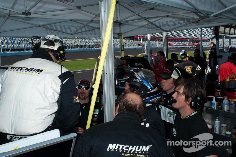 Mitchum Motorsports Pits