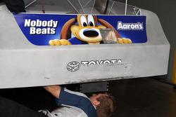 Car of David Reutimann, Michael Waltrip Racing Toyota