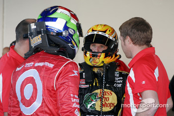 Dario Franchitti and Jamie McMurray