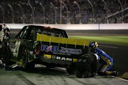 Pit stop for Parker Kligerman, Keselowski Racing Dodge