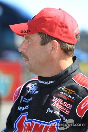 Greg Anderson, driver of the Summit Racing Pontiac GXP