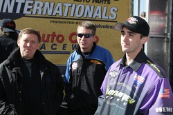 Pro Stock drivers Larry Morgan