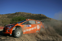 Henning Solberg and Ilka Minor Ford Fiesta RS WRC, M-Sport Stobart Ford World Rally Team