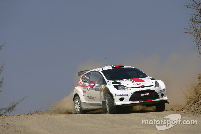 Ott Tanak and Kuldar Sikk, Ford Fiesta S2000