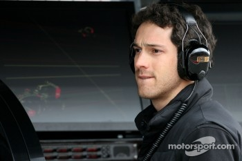Bruno Senna, test driver, Lotus Renault F1 Team