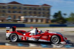#1 Audi Sport Team Joest Audi R15+: Timo Bernhard, Romain Dumas, Mike Rockenfeller