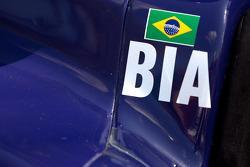 Detail of the car of Ana Beatriz, Dreyer & Reinbold Racing