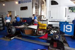 Dale Coyne Racing car of Sébastien Bourdais