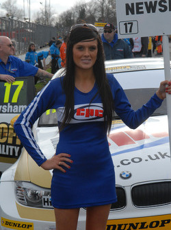 Dave Newsham's Grid Girl