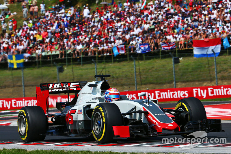 14. Romain Grosjean, Haas F1 Team VF-16