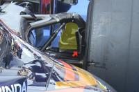 Formula 1 Foto - Scuderia Toro Rosso STR11, dettaglio del brake duct posteriore