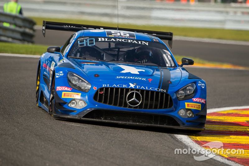 5. #56 Black Falcon, Mercedes-AMG GT3: Abdulaziz Al Faisal, Daniel Juncadella, Oliver Morley, Miguel Toril