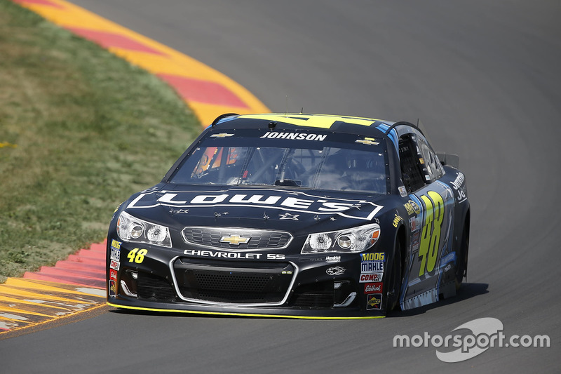 40. Jimmie Johnson, Hendrick Motorsports, Chevrolet (Crash)