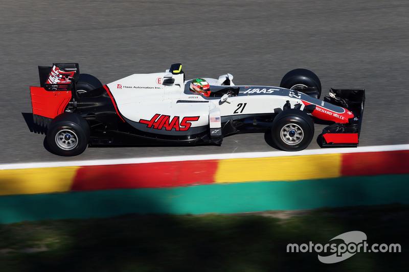 18. Esteban Gutierrez, Haas F1 Team VF-16 (Startplatzstrafe)