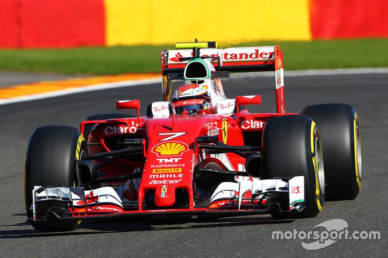 3. Kimi Räikkönen, Ferrari SF16-H