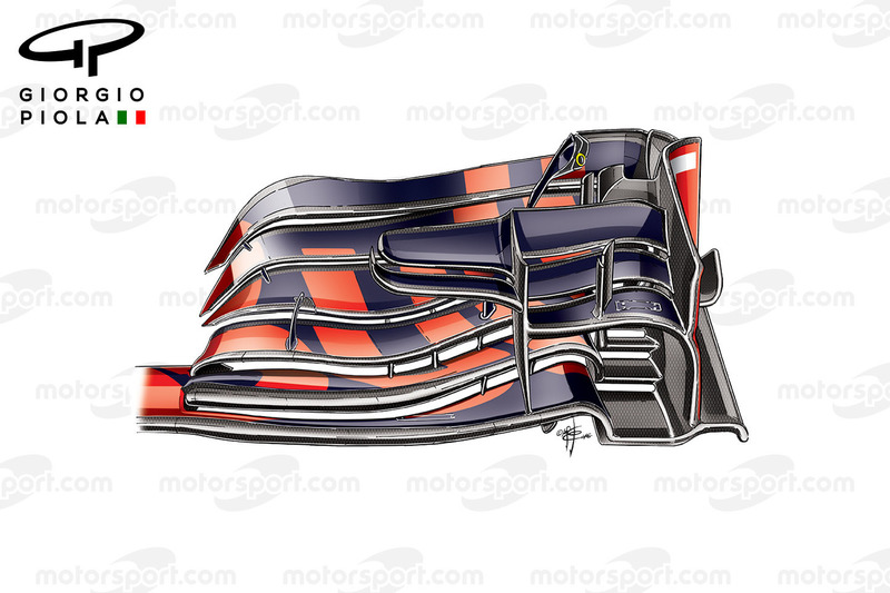 Red Bull RB12: Frontflügel 1
