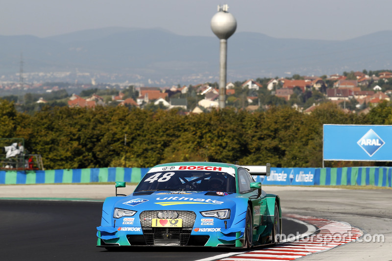 Budapest 1: Edoardo Mortara (Abt-Audi)