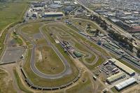 World Rallycross Photos - Une vue aérienne du Killarney International Raceway