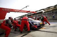DTM Foto - Pit stop, Mattias Ekström, Audi Sport Team Abt Sportsline, Audi A5 DTM