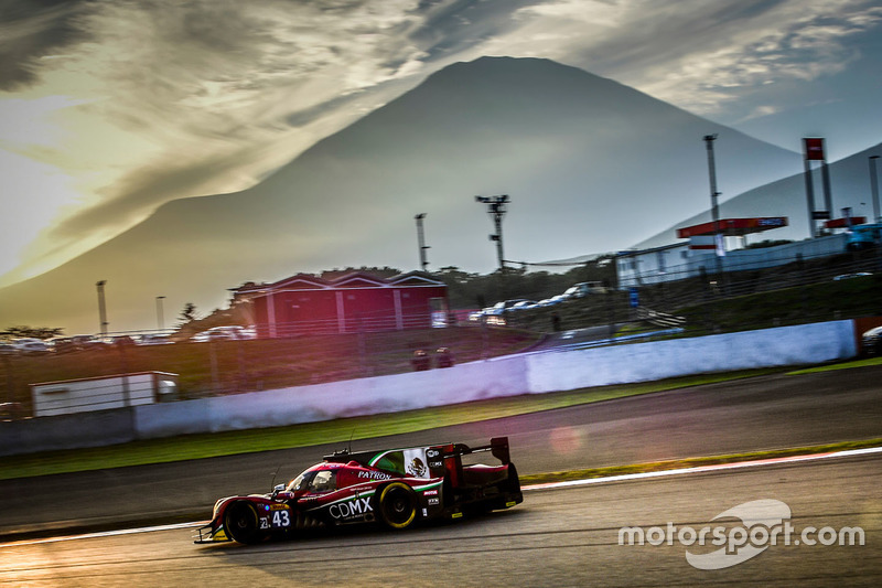 2. LMP2: #43 Ligier JSP2 - Nissan: Ricardo Gonzalez, Filipe Albuquerque, Bruno Senna