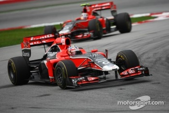 Marussia Virgin are still struggling