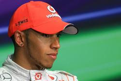 Press conference: second place Lewis Hamilton, McLaren Mercedes