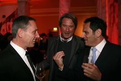 Christian Schacht, Hermann Tomczyk, ADAC Sport President and Hans-Jurgen Abt, Teamchef Abt-Audi