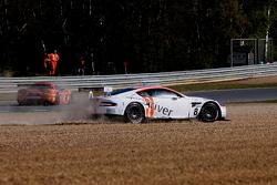 #10 Belgian Racing Ford GT Matech; #47 DKR Engineering Corvette Z06