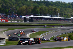 Start: Will Power, Team Penske leads the field