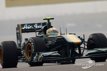 Luiz Razia, Lotus F1 Team