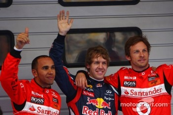 And yet another pole position for the 2010 Champion