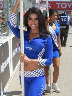 Miss Tecate contest entrant