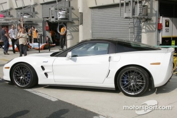 A Chevrolet Corvette C6 - ZR1