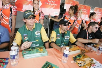 Marcus Marshall and Alex Tagliani