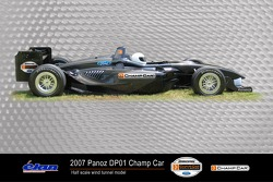 Half scale model of the new 2007 Panoz DP01 Champ Car