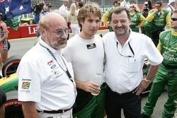 Will Power with some motorsport big names