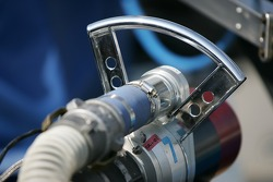 Detail of a refuel equipment