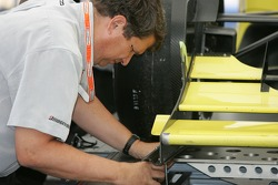 Champ Car official at work