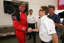 Allan McNish meets Roger Clemens