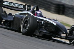 Katherine Legge driving the Dale Coyne Racing Panoz DP01