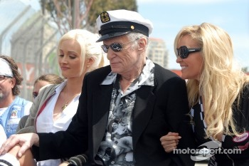 Grand Marshal Hugh Hefner